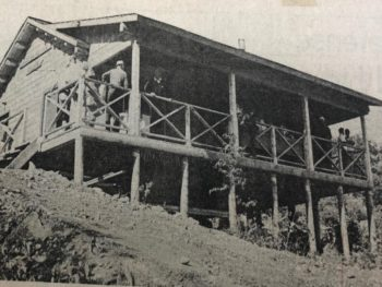 old photo of veazie salmon club headquarters