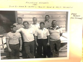 photo of veazie salmon club founding fathers